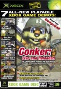 Xbox Magazine Demo Disc 39 Box Art