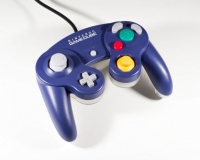 Nintendo GameCube Controller - Indigo / Clear Box Art