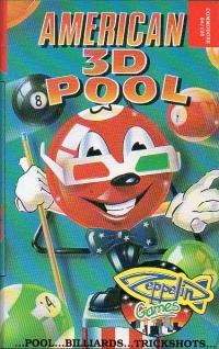 American 3D Pool Box Art