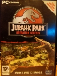 Jurassic Park: Operation Genesis Box Art