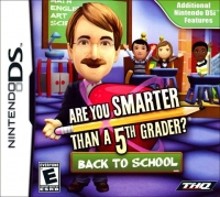 Are You Smarter Than A 5th Grader?  Back to School Box Art