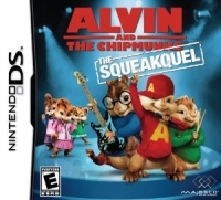 Alvin and the Chipmunks: The Squeakquel Box Art