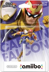 Captain Falcon - No.18 Super Smash Bros. Collection Box Art