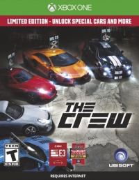 Crew, The - Limited Edition Box Art