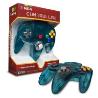 Cirka N64 Controller - Turquoise Box Art
