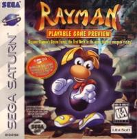 Rayman: Playable Game Preview Box Art