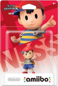 Ness - Super Smash Bros. Box Art