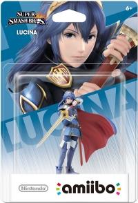 Lucina - Super Smash Bros. (gray Nintendo logo) Box Art