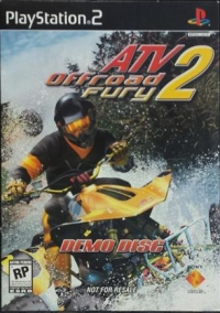 ATV Offroad Fury 2 Demo Disc Box Art