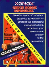 Chuck Norris Superkicks Box Art