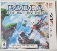 Rodea: The Sky Soldier Box Art