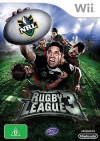Rugby League 3 Box Art