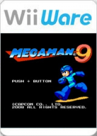 Mega Man 9 Box Art