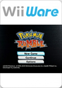 Pokemon Rumble Box Art