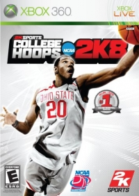 2K Sports College Hoops 2K8 Box Art