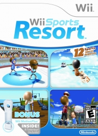 Wii Sports Resort (Wii MotionPlus Bundle) Box Art