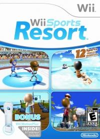 Wii Sports Resort (Wii MotionPlus) Box Art