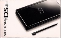 Nintendo DS Lite - Onyx [NA] Box Art
