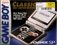 Nintendo Game Boy Advance SP - Classic NES Limited Edition [NA] Box Art