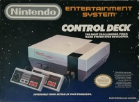 Nintendo Entertainment System Control Deck Box Art
