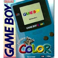 Nintendo Game Boy Color - Teal [NA] Box Art