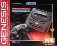 Sega Genesis - The Core System (Model 2) [US] Box Art