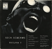 Sega Screams Volume 1 Box Art