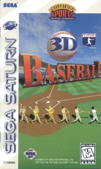 3D Baseball Box Art