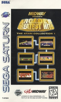 Arcade's Greatest Hits: The Atari Collection 1 Box Art