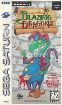 Blazing Dragons Box Art
