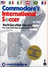 Commodore's International Soccer Box Art