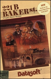 221B Baker St. Box Art