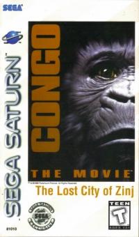 Congo The Movie: The Lost City of Zinj Box Art