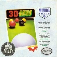 3D Pool - Mirror Image Box Art