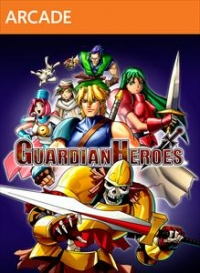 Guardian Heroes Box Art