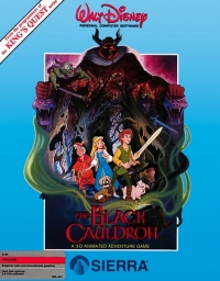Black Cauldron, The Box Art
