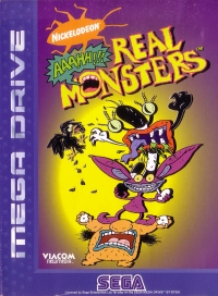 AAAHH!! Real Monsters Box Art