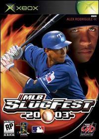 MLB SlugFest 2003 Box Art