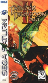 Panzer Dragoon II Zwei Box Art
