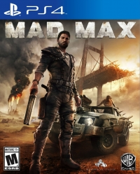 Mad Max Box Art