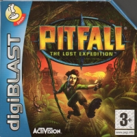 Pitfall: The Lost Expedition Box Art