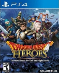 Dragon Quest Heroes: The World Tree's Woe and the Blight Below Box Art