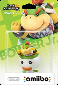 Bowser Jr. - Super Smash Bros. (gray Nintendo logo) Box Art