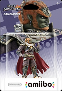 Ganondorf - Super Smash Bros. (gray Nintendo logo) Box Art