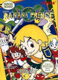 Banana Prince Box Art