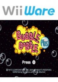 Bubble Bobble Plus! Box Art