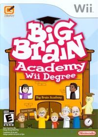 Big Brain Academy: Wii Degree Box Art