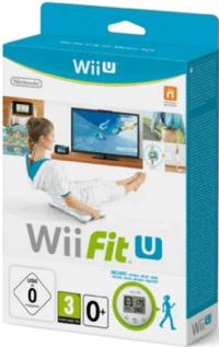 Wii Fit U & Fit Meter Set (green) Box Art
