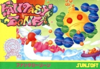 Fantasy Zone Box Art