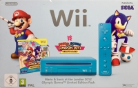 Nintendo Wii - Mario & Sonic at the London 2012 Olympic Games Limited Edition Pack [EU] Box Art